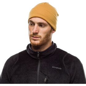 Buff Heavyweight Merino Wool Hat solid camel